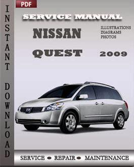 car repair manuals online pdf 2009 nissan quest user handbook nissan quest 2009 service manual pdf download servicerepairmanualdownload com