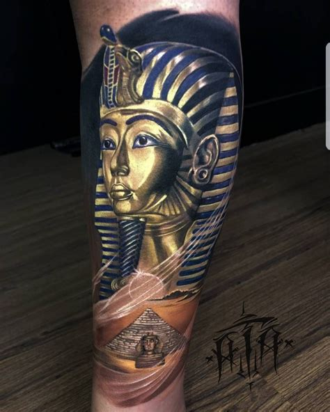 egyptian tribal tattoo by ata ink best tattoos