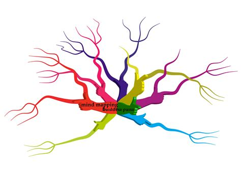 mind mapping template blank mind map clipart best