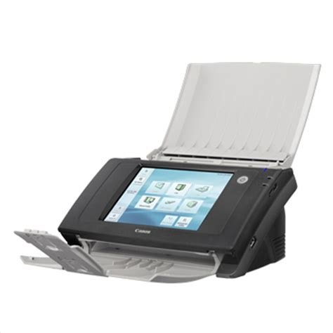 network scan canon scanfront 330 network scanner