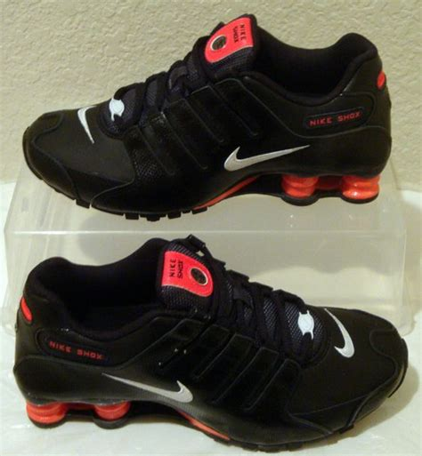 new nike shoes shox nz eu black womens sizes 7 8 and
