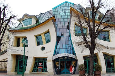 crooked house english for urban planners the crooked house sopot poland
