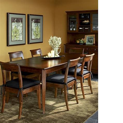 Crate And Barrel Kitchen Table by Cabria Extension Dining Table Crate And Barrel