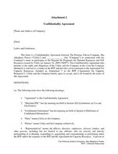 Offer Letter Confidentiality Clause 12 Best Images Of Breach Of Agreement Letter Sle