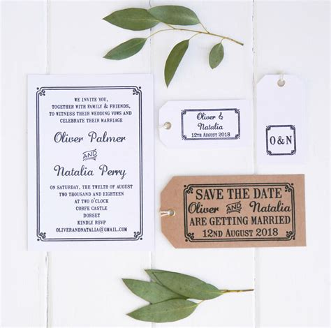 rubber st save the date save the date wedding st with border by st