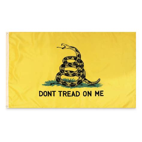 Dont Tread On Me don t tread on me flag 188086 flags at sportsman s guide
