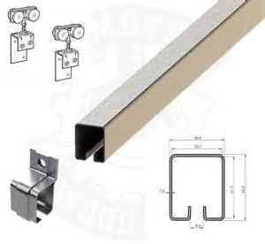 Heavy Duty Barn Door Track Sliding Garage Barn Door Track Gear Heavy Duty Steel Galv Channel Coburn Ebay