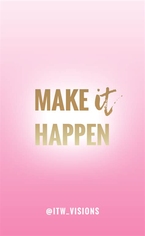 girly motivational wallpaper motivational quote pink and gold girly image and