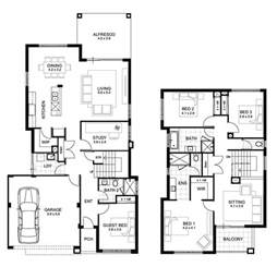 floor plan two storey double storey 4 bedroom house designs perth apg homes