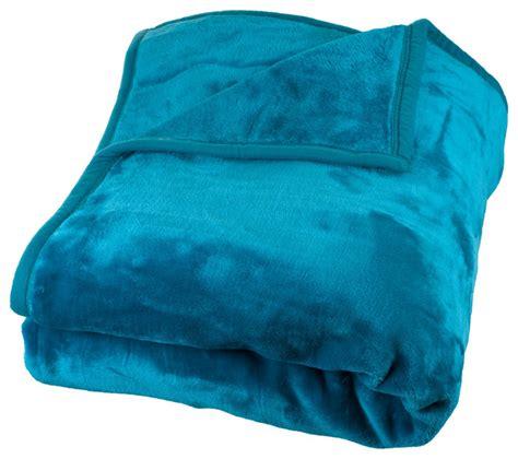 light aqua throw blanket heavy plush mink blanket by lavish home contemporary