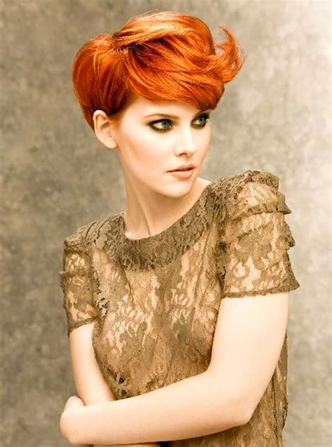 cute hair color ideas cute short red hair newhairstylesformen2014 com
