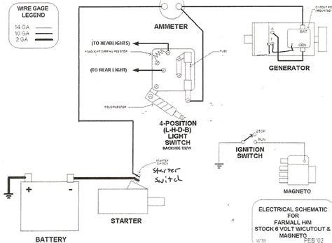 diagram phenomenal farmall h wiring diagram picture