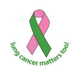 what color is the ribbon for lung cancer international lung cancer awareness month go smell the