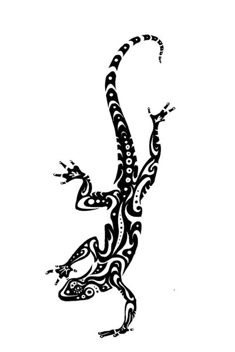 tribal lizards on pinterest by lankford2282 lizard