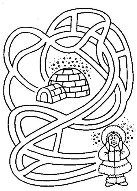 printable winter maze 25 best labyrinth images on pinterest labyrinths maze