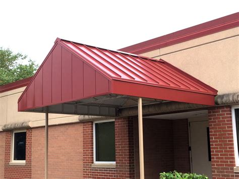 Awnings Metal by Commercial Awnings Kansas City Tent Awning Metal