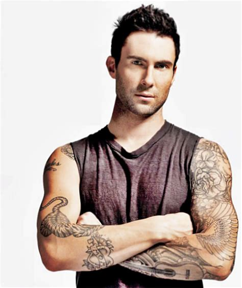 maroon 5 tattoo eye friday adam levine