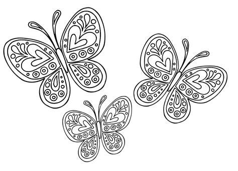 disegni da colorare farfalle e fiori disegni da colorare gli animali dell impariamo e