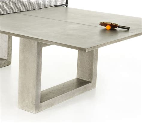 Concrete Ping Pong Table by If It S Hip It S Here Archives Modern Concrete Steel
