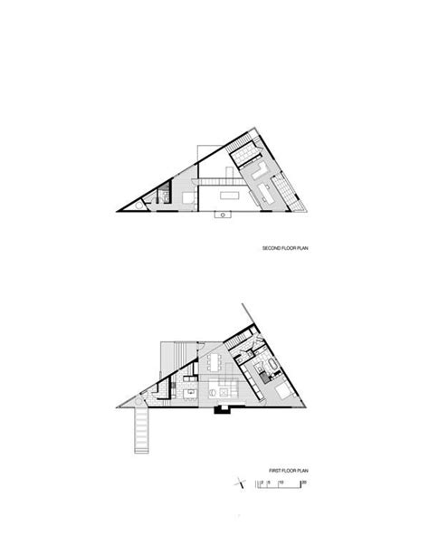 triangular floor plan 25 best images about triangle house plan on pinterest