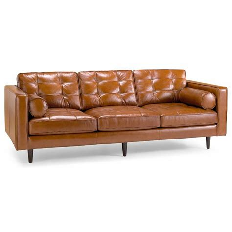 jcpenney sofas jcpenney darrin 89 quot leather sofa good housekeeping