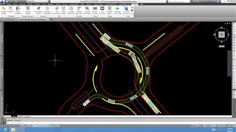 Autocad Roundabout Templates Torus 5 0 Modern Roundabout Cad Design Software Turbo Roundabouts