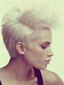 funky hairstyle for silver hair 30 short hair color styles short hairstyles 2016 2017