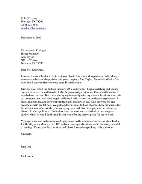 cover letter to unknown recipient fashion design cover letter sle guamreview