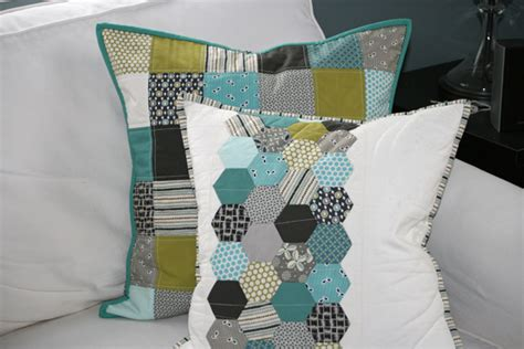 Patchwork Pillows - fitf patchwork pillows in the fridge