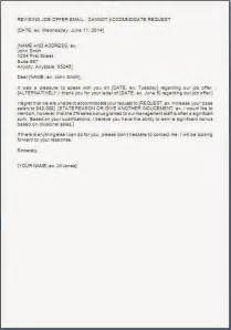 Offer Letter Salary Negotiation Salary Negotiation Rejection Letter