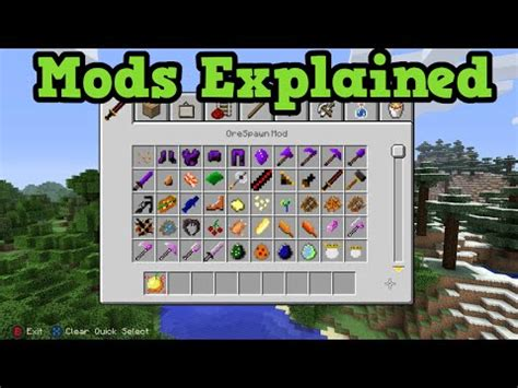 mods in minecraft for ps4 minecraft mods for xbox 360 guns minecraft ps3 xbox360