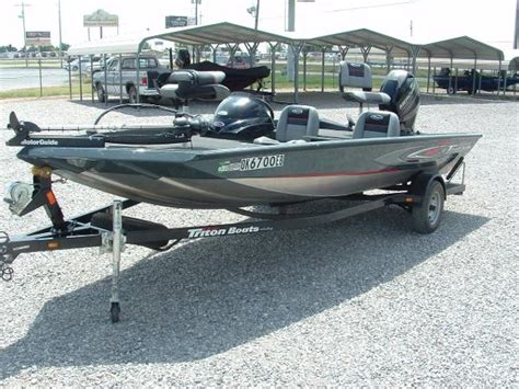 aluminum triton boats for sale used aluminum fish triton boats for sale boats