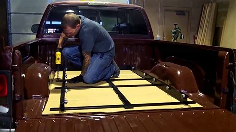 truck bed slide out cargoglide cg1500xl slide out truck bed tray installati