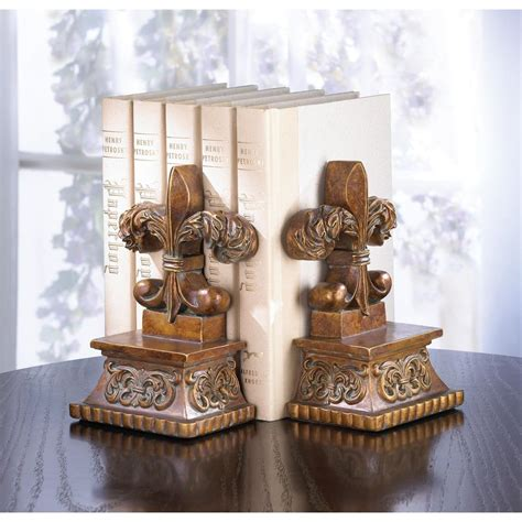 cheap fleur de lis home decor fleur de lis bookends wholesale at koehler home decor