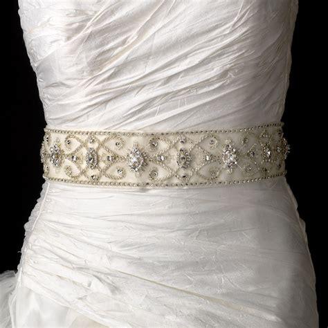 vintage beaded wedding sash bridal belt 13