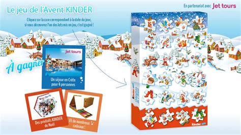 Calendrier De L Avent Nocibé Calendrier De L Avent Kinder 1200 Lots 224 Gagner
