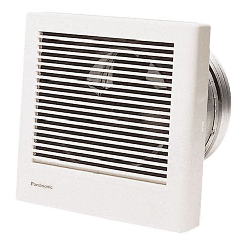 Wall Mounted Bathroom Fan Bathroom Fans Wall Mounted Bathroom Fan Fv 08wq1 From Panasonic Kitchensource