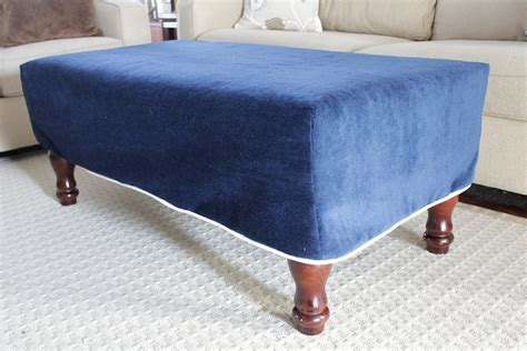 coffee table turned ottoman how to turn a coffee table into an ottoman