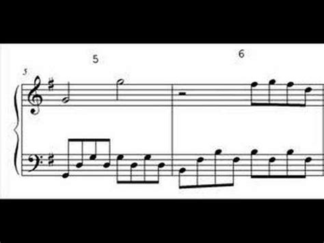 office theme song us piano sheet