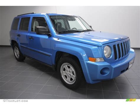 Jeep Patriot 2008 Blue Pixshark Com Images