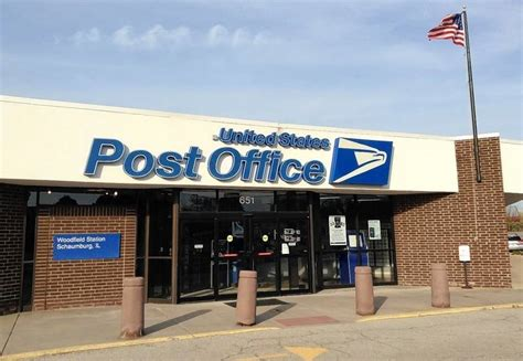 post office schaumburg s woodfield area post office to move