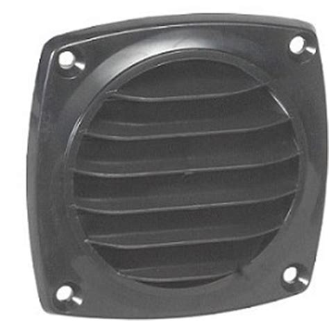 Cabinet Vent Grill plastic surface mount vent grill for venting cabinets or