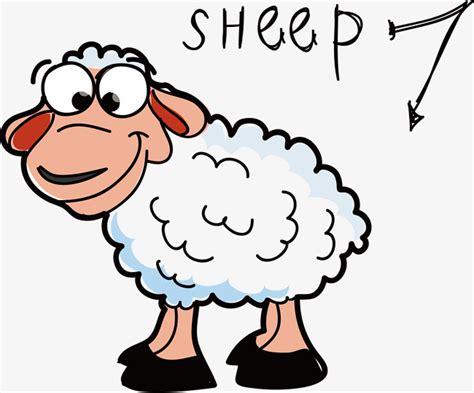 imagenes animadas de ovejas material de vector de dibujos animados imagen de oveja