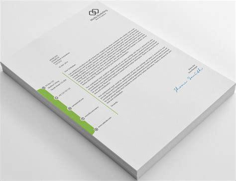 sample company letterhead templates ai