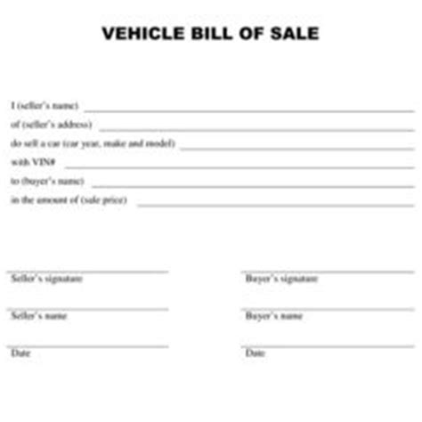 printable version of bill of sale printable vehicle or equipment bill of sale form and