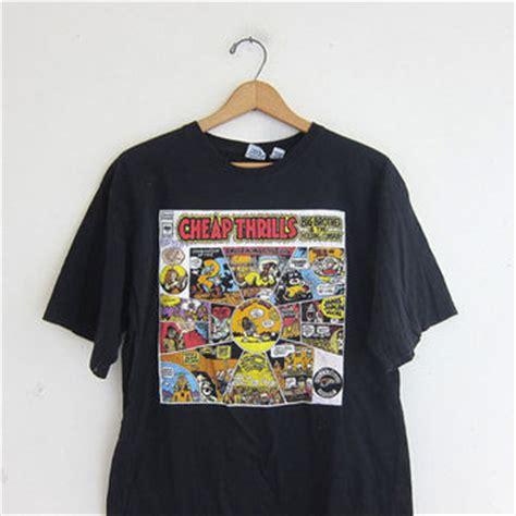 T Shirt Cheap Thrills vintage black cheap thrills big from birdies