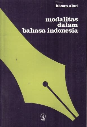 amazon bahasa indonesia modalitas dalam bahasa indonesia seri ildep 61 by