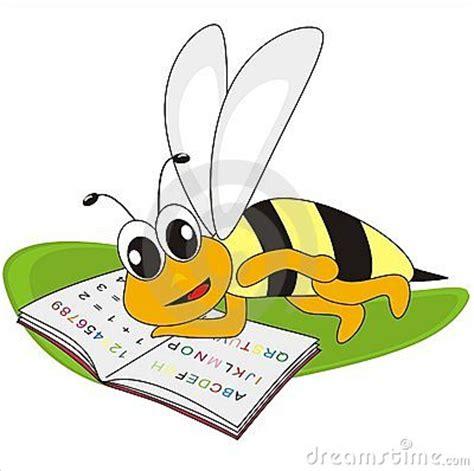abeja y deletreo libro imagenes de archivo imagen 21102394