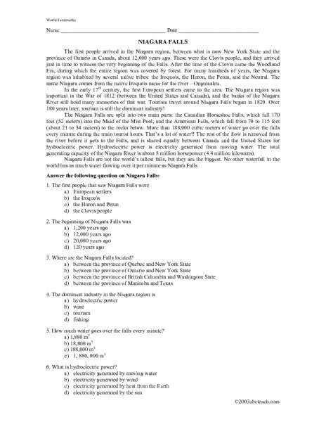 7 grade reading worksheets 7th grade reading comprehension worksheets