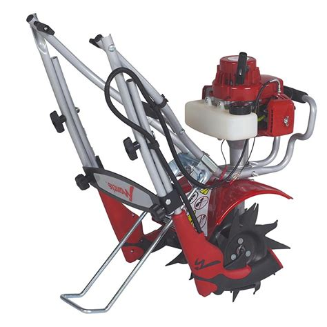 Mancis Gas mantis 2 cycle deluxe tiller with faststart mantis garden tools